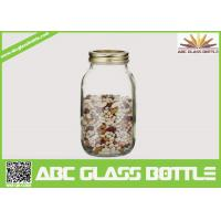 Buy cheap High quality clear 32oz glass mason jar for storage product