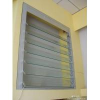 Buy cheap Silver Single Aluminum Glass Shutter Window With 5mm Clear Tempered Glass from wholesalers