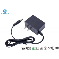 Quality 5V 1A 1.5A 2A 9V 1A 24V AC DC Power Adapter UL Listed US Plug Switching Power Supply for sale