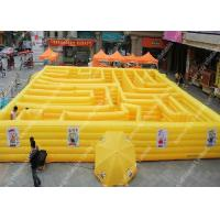 Buy cheap Commercial Inflatable Maze Fire Retardant , outdoor activities for children from wholesalers