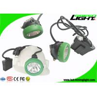 Buy cheap 216lum 10000lux Rechargeable Led Hard Hat Light 7.8Ah Li - Ion Battery IP68 450mA from wholesalers