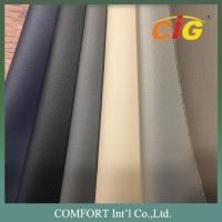 Buy cheap BS 5852 Cigarette Antimicrobial PVC Artificial Leather PVC PU Synthetic Leather product