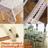 China Stylish natural color cotton lace,flower bilateral trimming lace,crocheted lace scrapbooki on sale