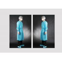 Buy cheap Dustproof Disposable Surgical Gown No Stimulus To Skin Customized Size from wholesalers
