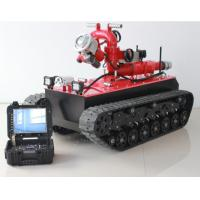 Buy cheap HMRBVT01 Tracked Fire Fighting Robot Remote Control With Double Water Belt Supply from wholesalers