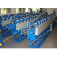 Buy cheap Custom Design Shutter Door Roll Forming Machine 0.6mm - 0.8mm Material Thickness from wholesalers