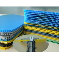 Buy cheap Non - Toxic Non - Pollution Corrugated Plastic Sheets Correx Fluted Board from wholesalers