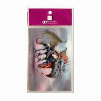 Buy cheap 3D Lenticular Post Card, Wonderful 3D Depth Designs, Color More Fresh and Clear product