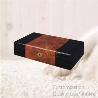 Buy cheap Luxury Men's Gift High Gloss Inlaid Wooden Watch Storage Display Chest Box 12 Slots, Personalized Logo Brand. product