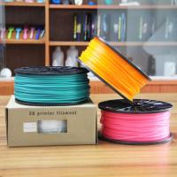 Buy cheap Grade A Red ABS Plastic Filament For Desktop 3D Printer / 3D Printer Filament product