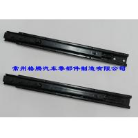 Buy cheap Black Custom Seat Rails With Two-Sided Latch For Car , 240MM Joureny from wholesalers