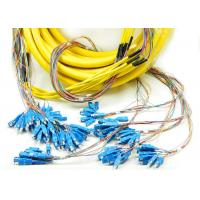 Buy cheap Multi Purpose Single Mode Fiber Patch Cord 72 Cores SC SC Connector from wholesalers