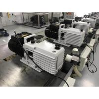 Buy cheap 0.55 KW DRV16 Lubricated Rotary Vane Vacuum Pump Dual Stage White Color product