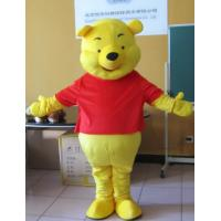 Buy cheap Winnie the pooh bear adult cartoon character costumes with high quality helmet from wholesalers