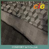 Buy cheap 100% Polyester PVC Artificial Leather Tatting Jacquard Auto Fabric for Car Seat product