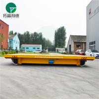 Buy cheap 50t railroad transfer trolley for warehouse bay cargo handling from wholesalers