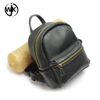 Buy cheap China supplier genuine leather wholesale backpack handmade women bags top quality mini leather backpack from wholesalers