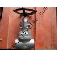 SW/BW/NPT Female thread forged steel Gate Valve