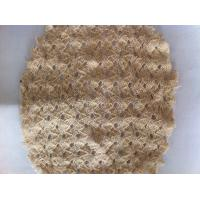 Buy cheap Lightweight Flexible Knitted Fabric Mesh Netting , Stretch Clothing Shell Fabric from wholesalers