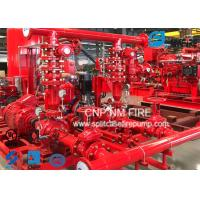 Buy cheap Centrifugal Skid Mounted Fire Pump Single Stage For Pipelines Bureaus from wholesalers