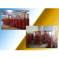 Clean Gas Fm 200 Fire Extinguishing System Preparation For Storage Room