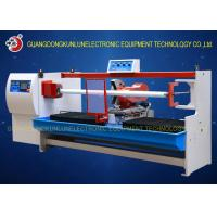 Buy cheap Professional Thermal Paper Roll / Jumbo Roll Cutting Machine PLC Touch Screen Control from wholesalers