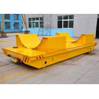 Buy cheap Heavy load capacity coil transfer cart on rails from wholesalers