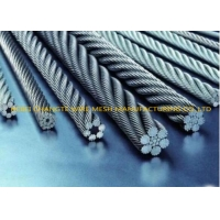 China 1000M Fiber Core Electro Galvanized Steel Wire Rope on sale