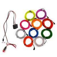 Buy cheap Electroluminescent EL Wire for Christmas Lighting Indoor and outdoor advertising and decoration from wholesalers