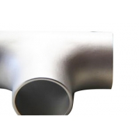Buy cheap Tee Pipe Fittings Butt Welding Equal Tee Of Stainless Steel Pipe Fittings from wholesalers