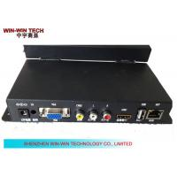 Buy cheap VGA Advertising Media Player Digital Signage HD Video Wall Mount from wholesalers