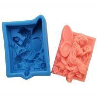 Buy cheap good quanlity silicone rubber soap molds fairy Nicole soap mould manufacturer from wholesalers