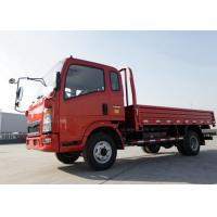 5 - 7 Ton Double Axles Dropside Truck, Light Duty Sino HOWO Trucks110HP Engine