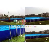 Buy cheap Durable Custom Inflatable Pool / Large Inflatable Pool Rust Resistant product
