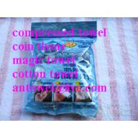 Buy cheap magic compressed towel compressed coin tissue travel use gift use product