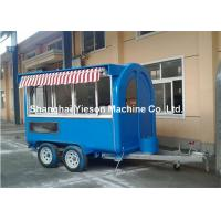 Buy cheap Portable Carts Food Tuck Trailer , Fast Food Trailers for Ice Cream from wholesalers
