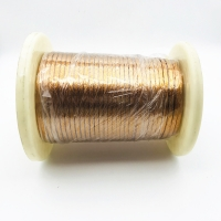 Buy cheap RoHS 0.4mm * 45 Strands Taped Copper Litz Wire from wholesalers