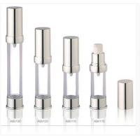 Buy cheap Silver Acrylic Airless Bottles Plastic Cosmetic Lotion Containers product