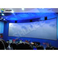 Buy cheap Specific Design 5D Cinema System With Red Black Motion Chairs In High Synchronized Performance from wholesalers