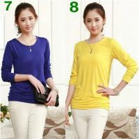 Buy cheap Women's Base Shirt, 12 nice Colors ! really Comfortable to wear ! retail and Wholesale ! product