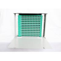Buy cheap Rack Mount Optical Fiber Distribution Frame , 144 Cores 12 Fiber Optic Patch Panel from wholesalers