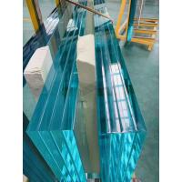 Buy cheap Bent and tempered glass, curved glass, curve radius minimum at 750 mm, max length 2330mm, cylindrical curve, buildling from wholesalers