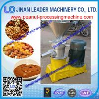Buy cheap easy to clear peanut grinding machine of food processing machine from wholesalers