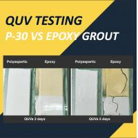 China Why Polyaspartic Ceramic Tile Grout P-30 Is Prior To Epoxy Grout | Testing Report on sale