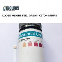 Buy cheap Visual inspection 10 parameter urine test strips urine ketone test strips, ket , loose weight from wholesalers