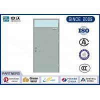High Protection Commercial Fire Rated Doors / Steel Fire Door ISO9001 2008 Certificate