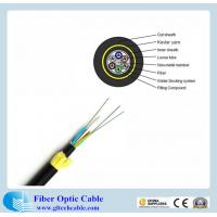 Buy cheap Double PE  jacket  single mode fibre core 24-core G652D All-Dielectric self-supporting (ADSS)  fibre optic cable tender from wholesalers