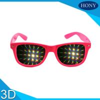 Buy cheap Diffraction glasses clear 13500 lines per inch for  firework glasses from wholesalers
