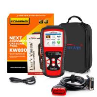 Quality KONNWEI KW830 OBD2 Multi-language diagnostic scanner for all cars for sale