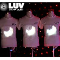 Buy cheap led t shirts custom,sound led clothes,led shirts light up sound from wholesalers
